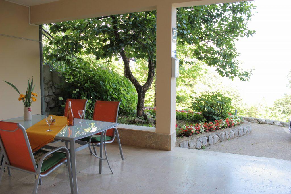 Apartments Basan Lovran-Opatija, apartment 2+2 terrace sea view