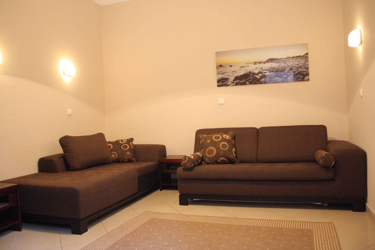 Villa San Giuseppe Lovran, apartment 3+2 livingroom