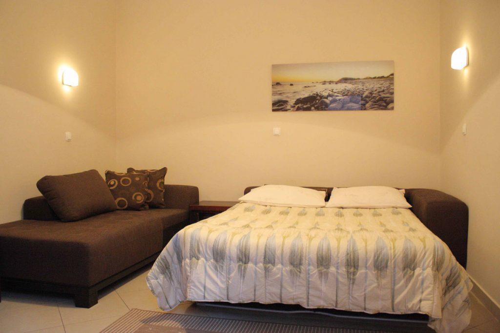 Villa San Giuseppe Lovran, apartment 3+2 livingroom extra bed