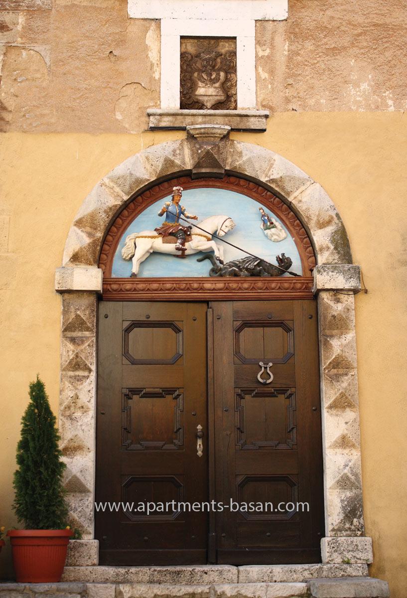 Lovran sveti Juraj vrata