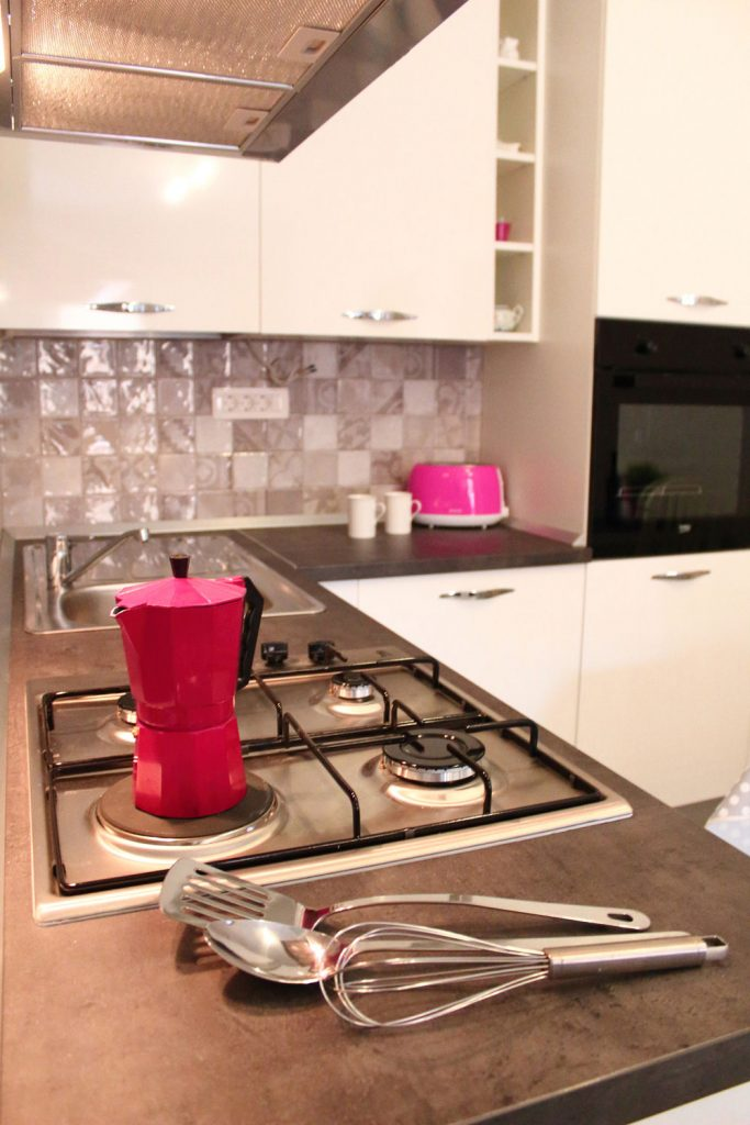 Apartments Basan Lovran-Opatija, apartment 4+1 kitchen appliances