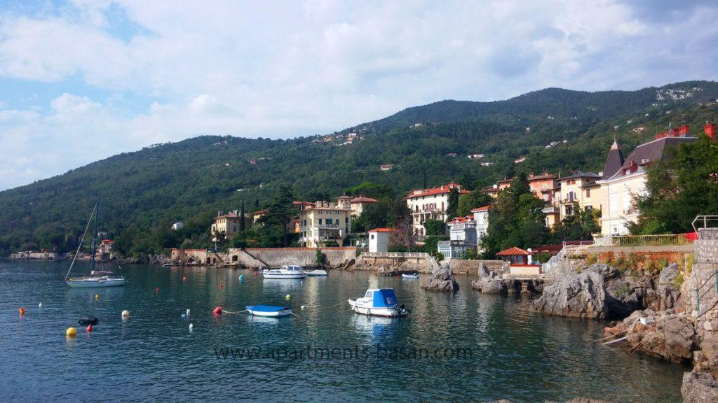 Lovran port 100 m from Villa san Guiseppe - Apartmenst Basan