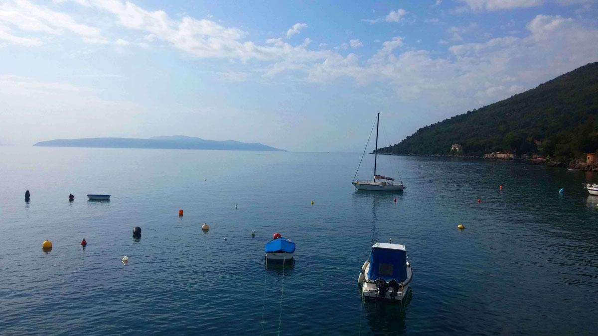 Harbor view near Villa San Giuseppe Lovran holiday rentals