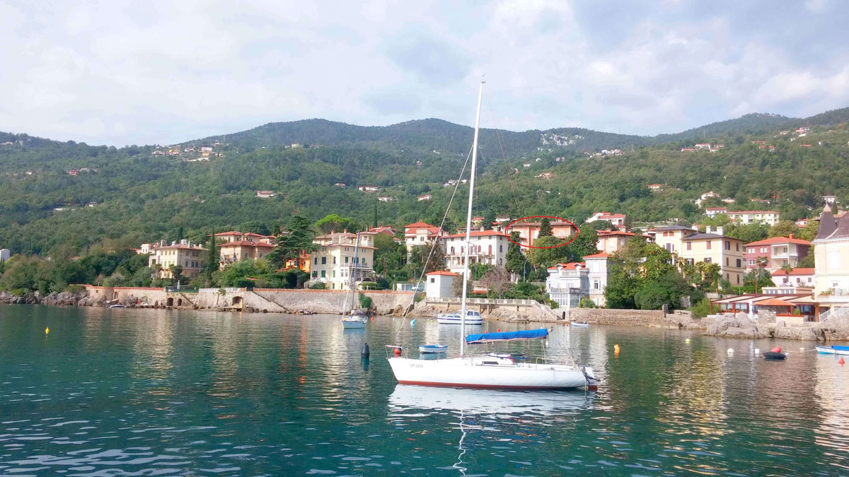 Best apartments for beach holiday in Croatian only 50 m from sea and Lovran center