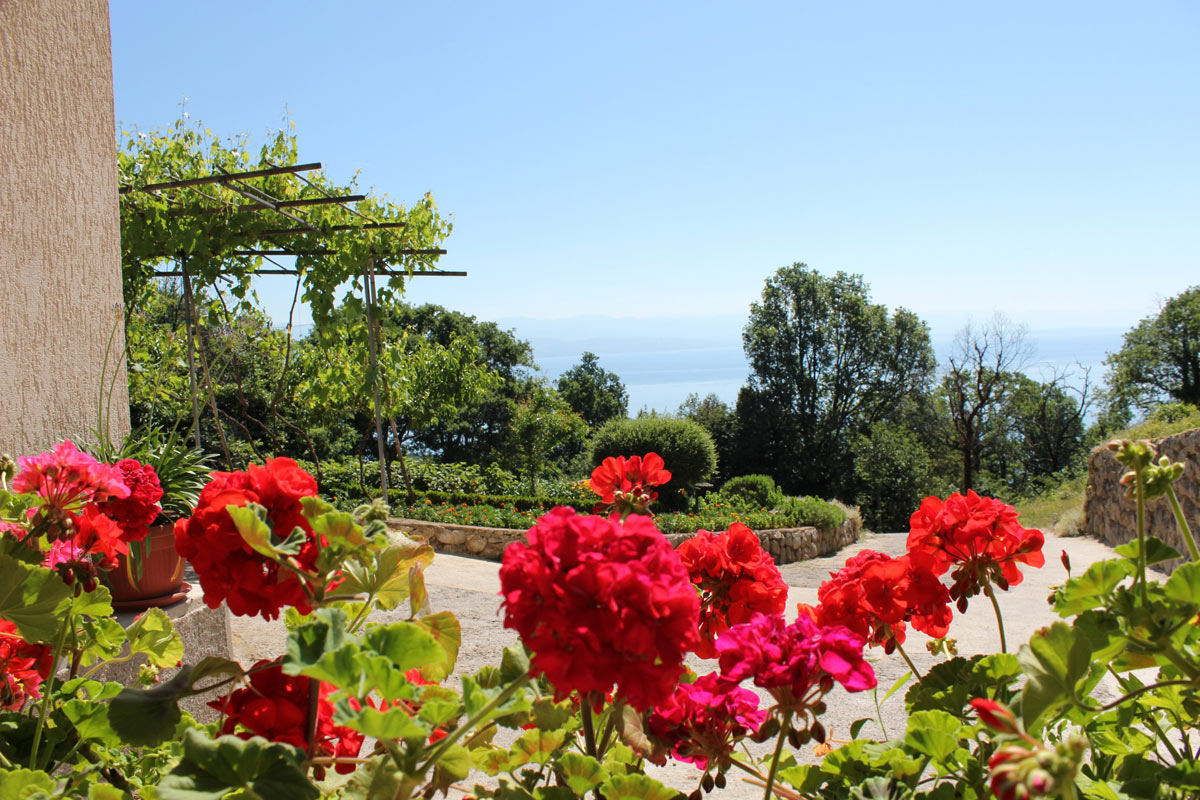 Sea view apartments in Opatija for best summer holidays in Croatia