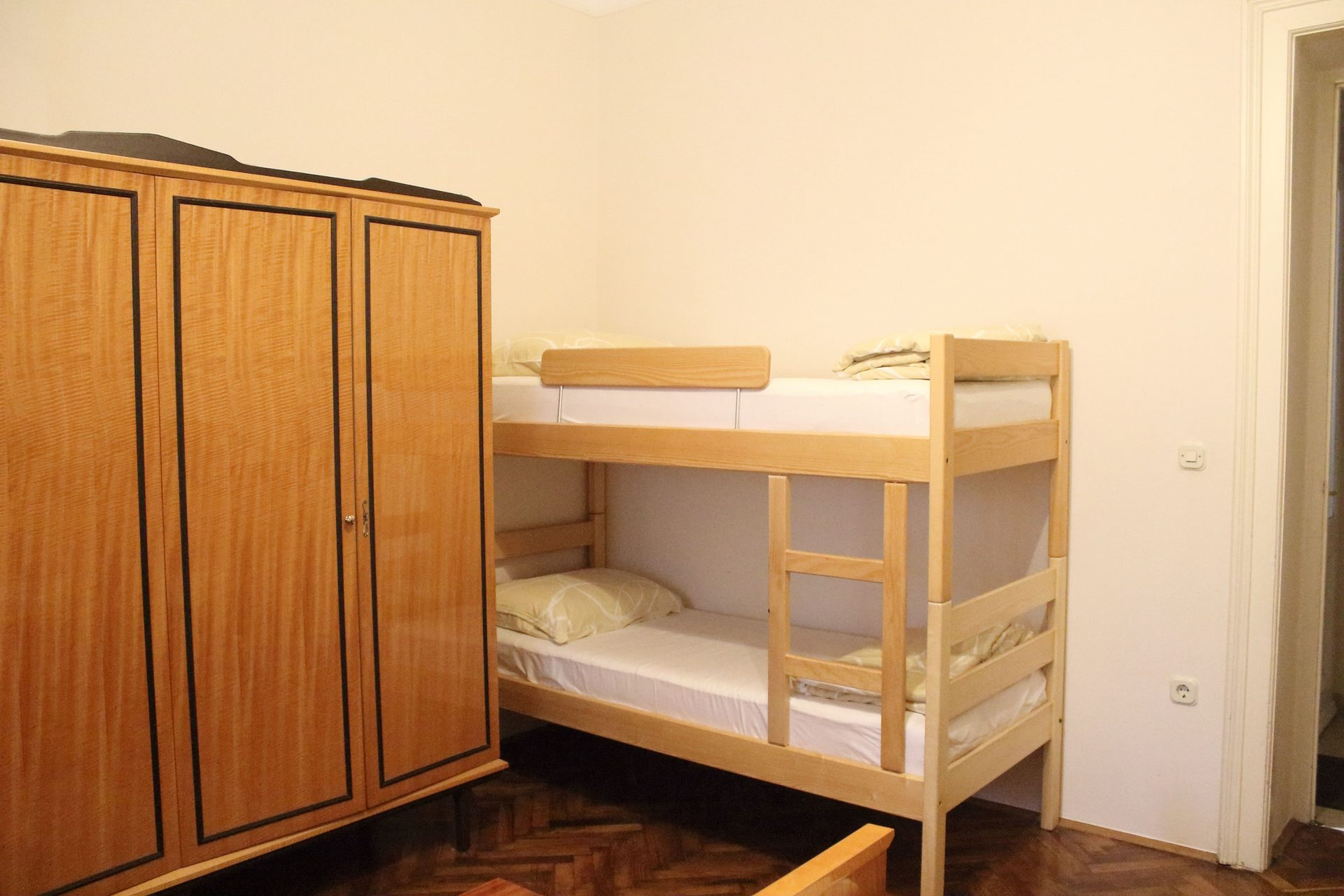 Bunk bed ideal for kids holiday in apartment Villa san Giuseppe Lovran