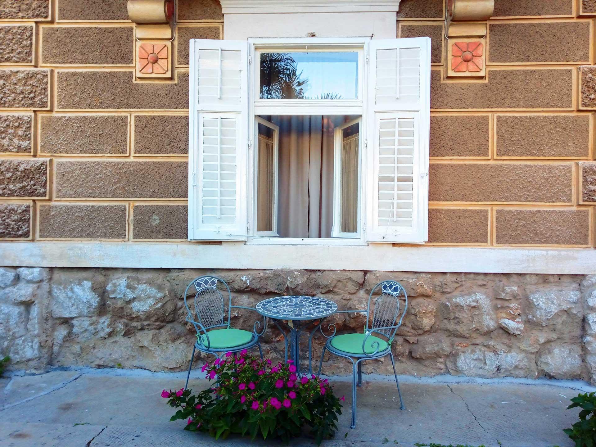 Villa San Giuseppe Lovran, apartment 2+1 terrace with flowers