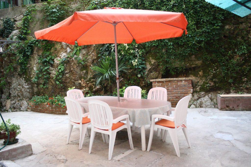 Apartment with big private terrace near sea Villa San Giuseppe Lovran Croatia