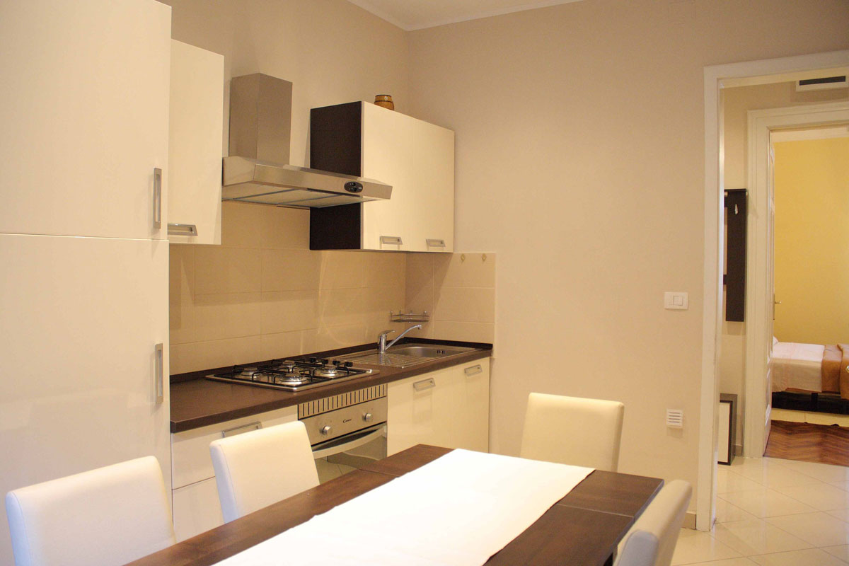 Kitchen and dining area ideal for quick meals on holidays - Villa San Giuseppe Lovran near Opatija