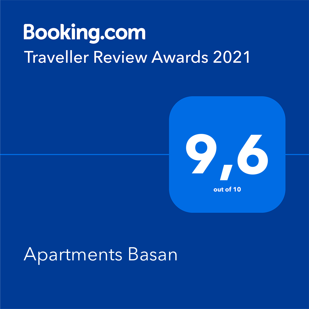 Booking.com award 2021 Lovran apartments
