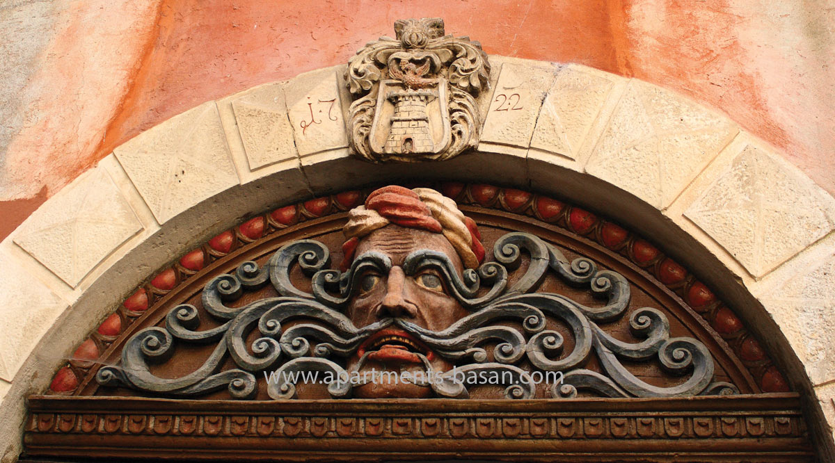 Lovran Mustachio monument, sightseeing in Opatija riviera