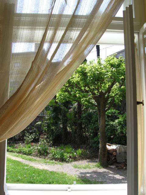 Holiday apartments with nice view near beach on Croatian coast of Opatija