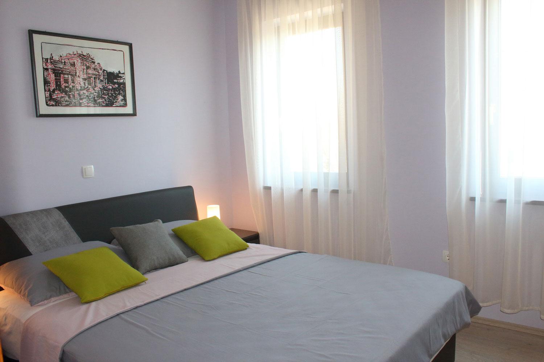 2 larfe bedrooms in Apartments Basan Lovran-Opatija, apartment 4+1