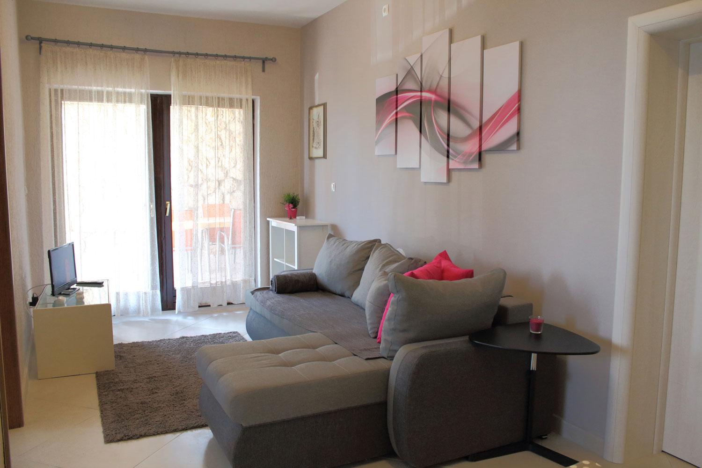 Apartments Basan Lovran-Opatija, apartment 4+1 livingroom with covered terrace