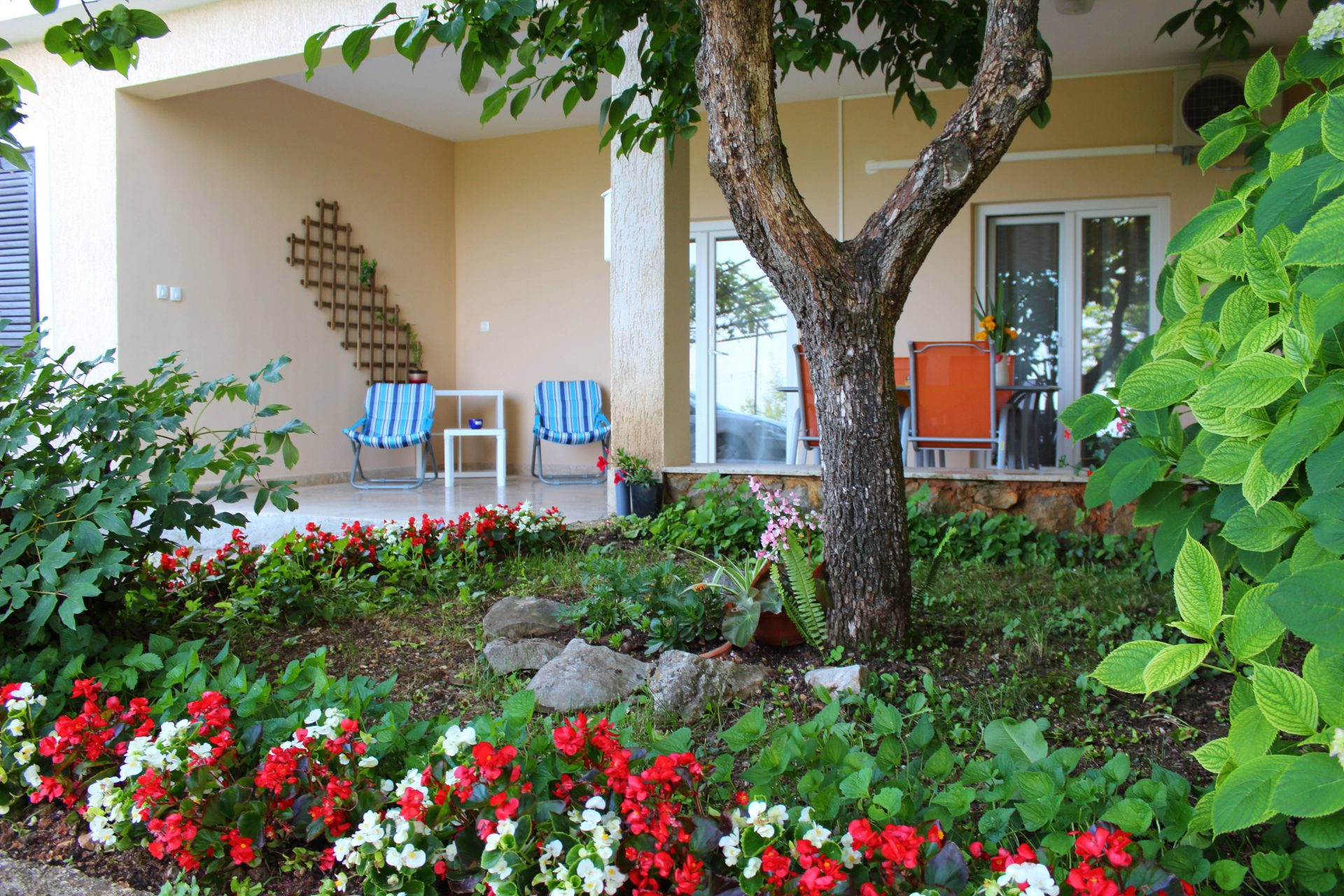 Apartments Basan Lovran-Opatija, apartment 2+2 terrace with garden